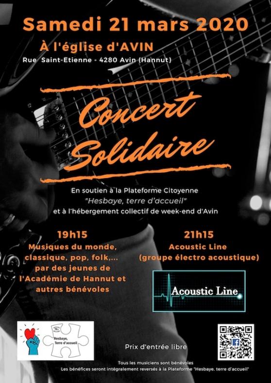 Concert 21 mars Avin